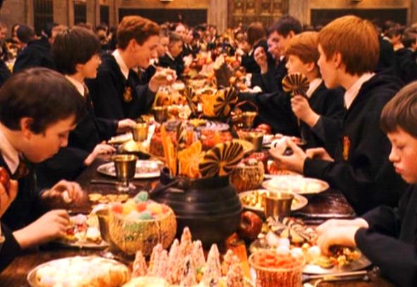 Harry Potter Feast Do512 Blog